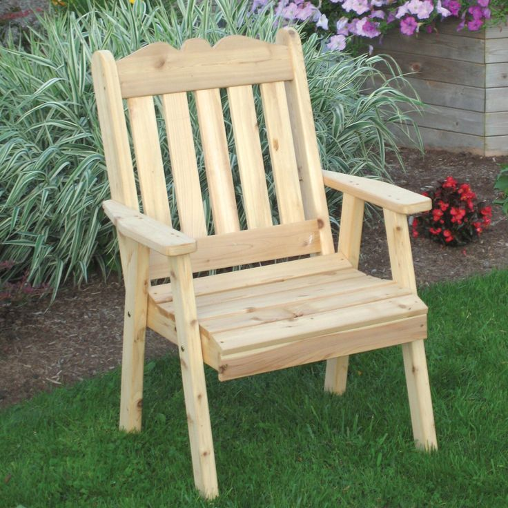 Outdoor A & L Furniture Western Red Cedar Royal English