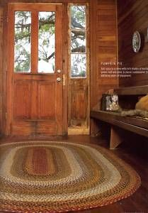 Cabin Area Rugs | Cotton Braided Area Rugs Accent Cabin Lodge Rustic New | eBay