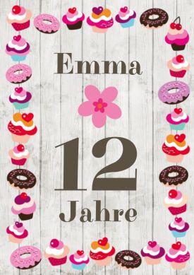 58 Besten 12 Geburtstag Einladungskarten Bilder Auf Pinterest