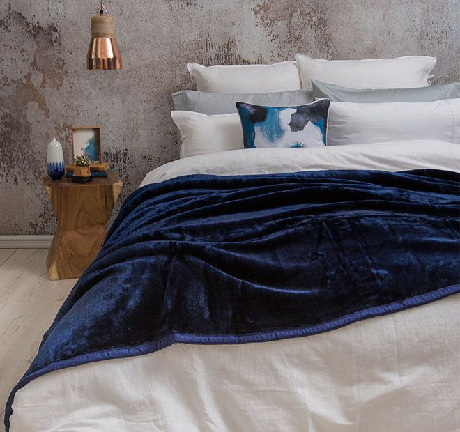 Mink BAMBURY - Polyester Super soft and warm.  Available In: x1 Single Bed Blanket - 160cm x 220cm, x1 King Single Bed Blanket - 180cm x 220cm, x1 Queen Bed Blanket - 240cm x 220cm, x1 King Bed Blanket - 260cm x 220cm - #blankets