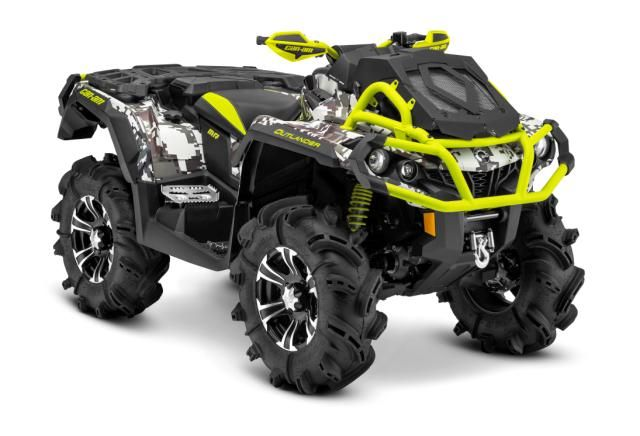 2015 Can-Am Outlander 1000 X MR Camo and Green