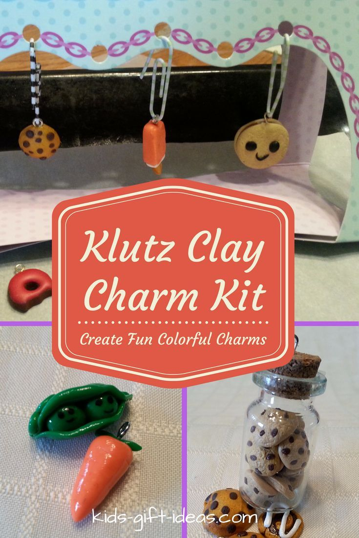 Best crafts for 8 yr old girl -  Year Old Girls See More Create Loads Of Fun Colorful Charms With The Klutz Clay Charm Kit My Daughter Created