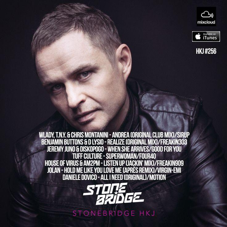 StoneBridge #256 - The Soul Edition is up https://www.mixcloud.com/stonebridge/256-stonebridge-hkj Check it out! #stonebridge #hkj #sexy #funky #house