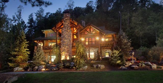 Modern Rustic Homes Atlanta Homes A Log Rich Girl Log Homes Beautiful
