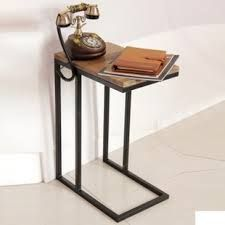 Resultado de imagen para muebles hierro y madera