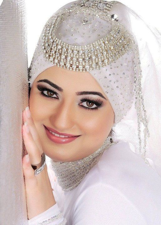 best Hijab Wedding Veils 2014