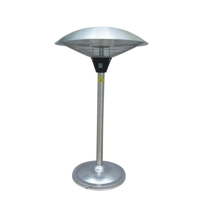 PrimeGlo HIL-1821 Electric Tabletop Patio Heater - Stainless Steel (Silver) (Iron), Outdoor Décor