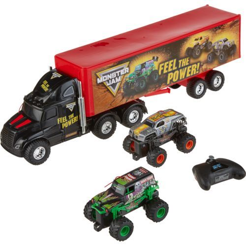 New Bright Monster Jam Hauler Set Multi - Outdoor Games And Toys, Sport Games at Academy Sports
