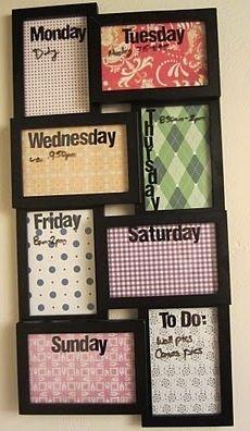 Original organizador-calendario diario