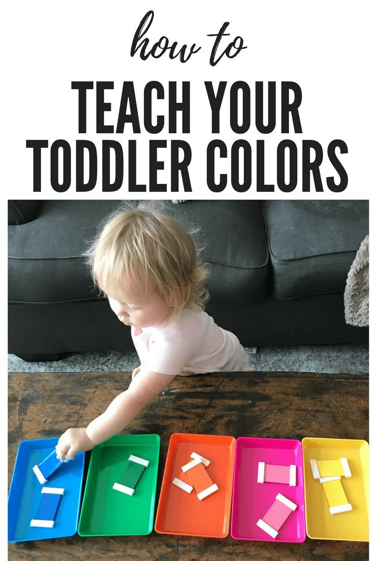 How to Teach Your Toddler Colors | Learning Colors Through ...