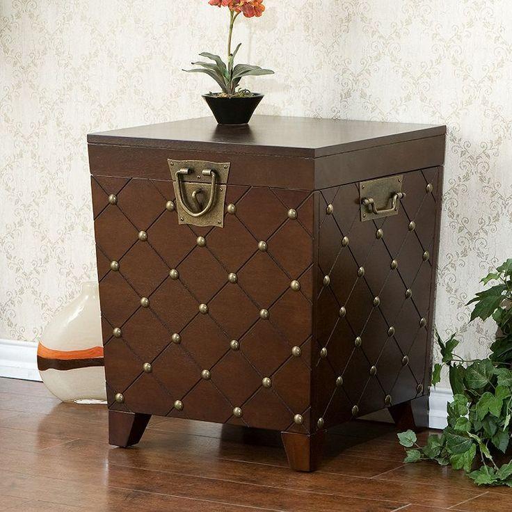 Nailhead Trunk End Table   Kohls   $359