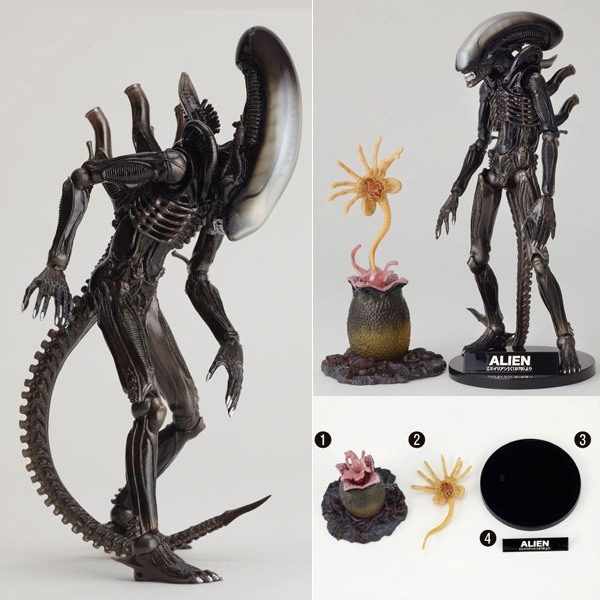 【特撮リボルテックNo.001】ALIEN//完成品フィギュア 【ノンスケール】【海洋堂】【2013年10月19日発売予定】【予約商品】【2sp_120220_b】【楽天市場】  http://item.rakuten.co.jp/nipponkan/a673-revo001-alien/