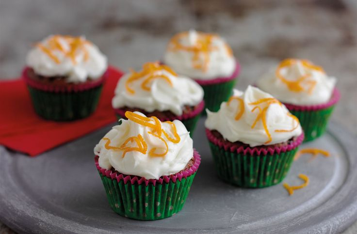 Christmas cupcakes with brandy frosting tesco real food