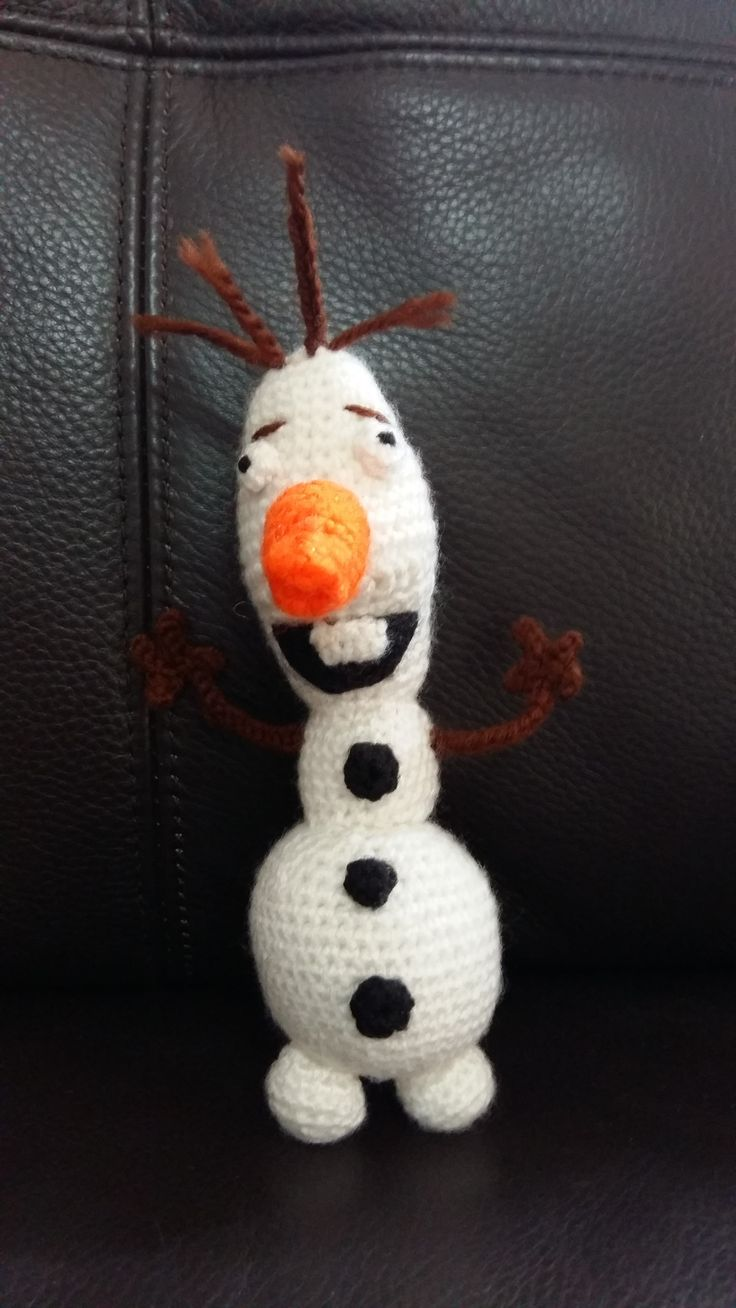 Guess who? Olaf of course. From Frozen - very popular character and so much fun to make!