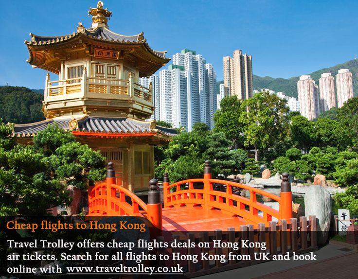 Cheap flights to Hong Kong from UK @ Travel Trolley