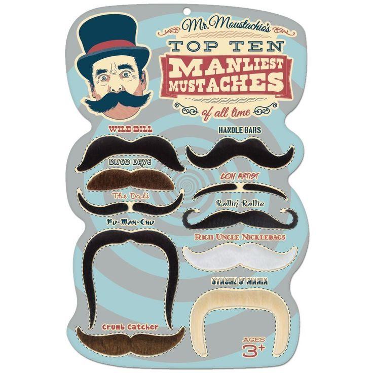 fake mustaches - Halloween Costume Ideas Mustache