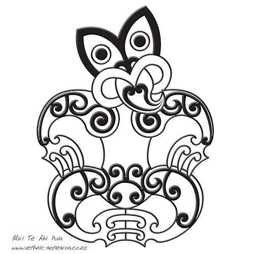 Maori Art - Hei Tiki