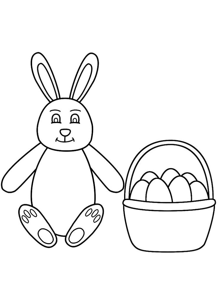 Bunny Ears Coloring Page