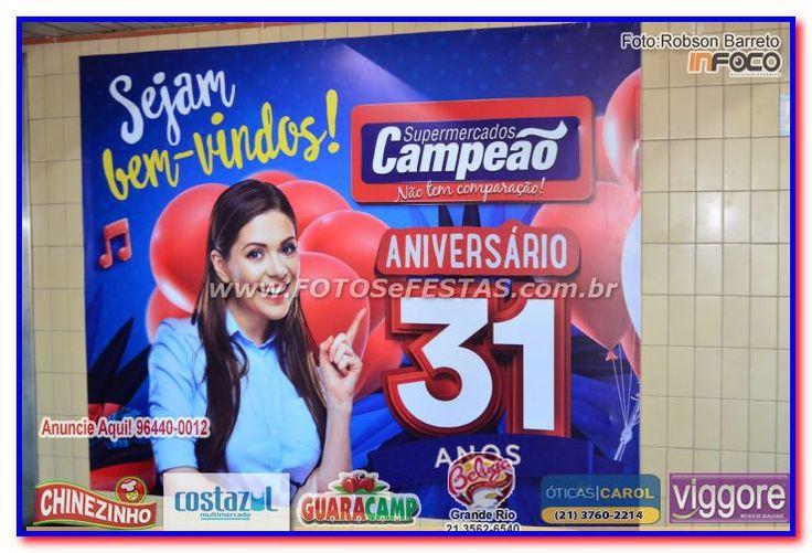 Aniversário Campeão Supermercados (06/07/2017)