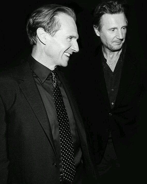Ralph Fiennes & Liam Neeson