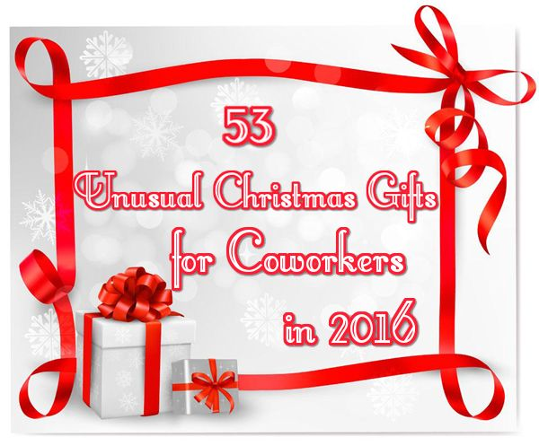 Christmas is coming yet you are still unsure to pick up gifts for your coworkers. https://www.unusualgifts.in/53-unusual-christmas-gifts-coworkers/ #christmasgiftsideas #christmasgiftsideasforgrandparents