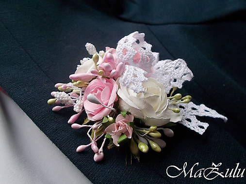 MaZulu / Vintage svadobné pierko 1.