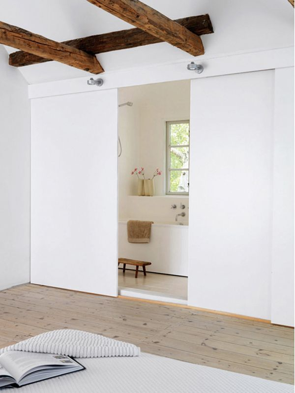 love the open bathroom option