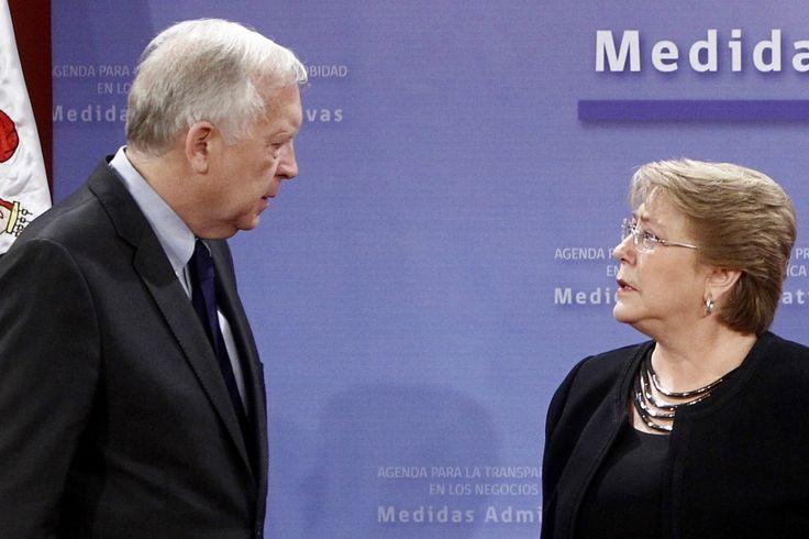 Tensión entre Burgos y Bachelet por sigiloso viaje de mandataria a la Araucanía