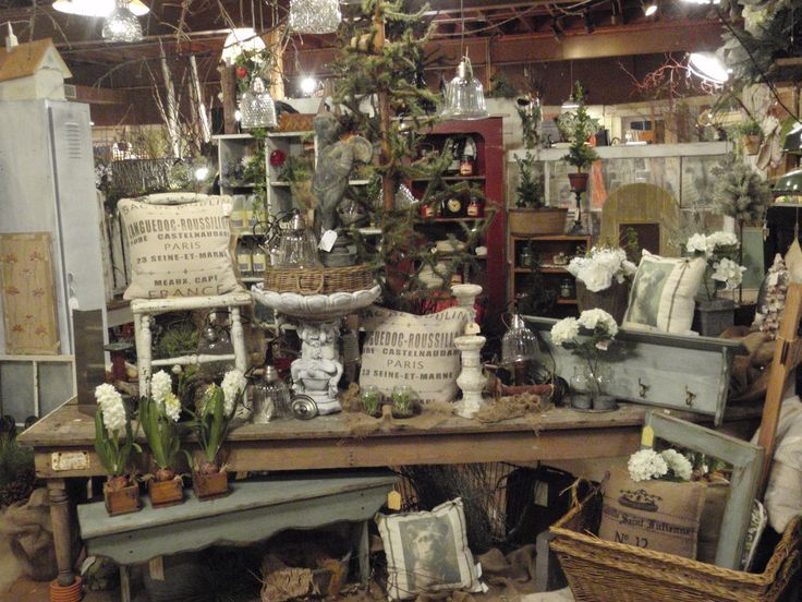Vintage Meets Garden and Barn