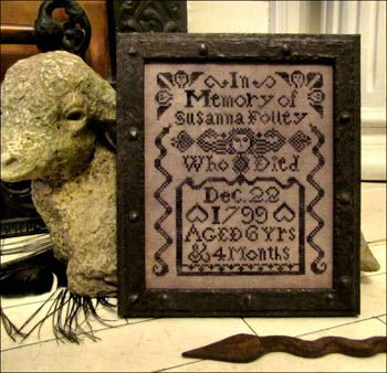 Susanna Folley Tombstone Angel from Kathy Barrick Designs