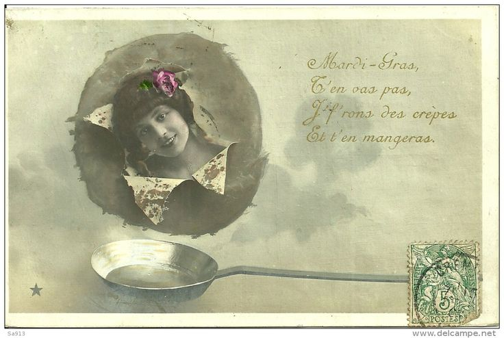Chandeleur (Delcampe) Carte postale ancienne