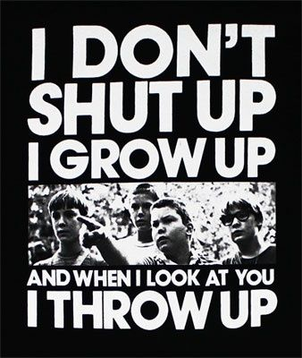 Lol my most used comeback when I was 3......Stand By Me best movie ever - Click image to find more Quotes Pinterest pins