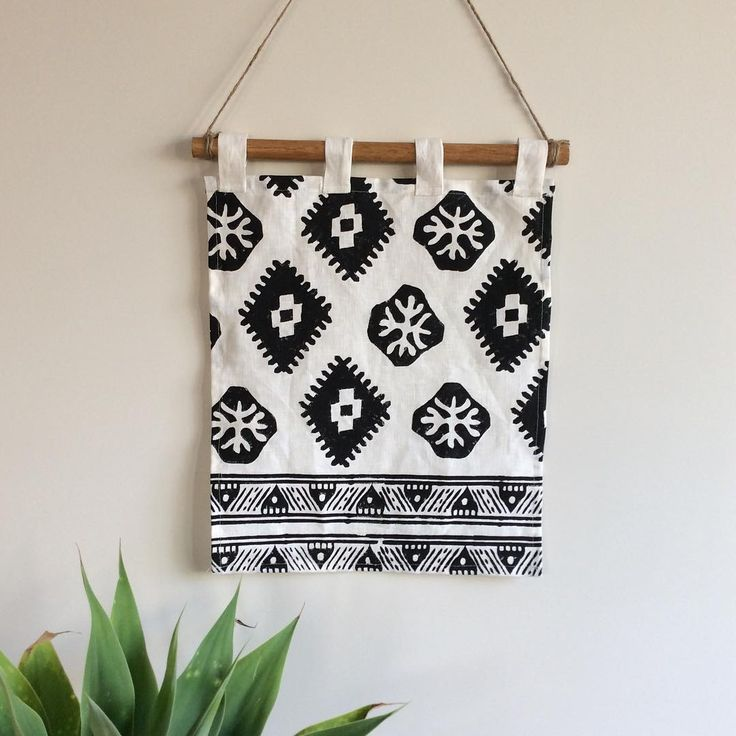"""My handblock printed tribal Aztec wall hangings are ripe & ready, handmade & printed by me, very limited pieces, custom orders can also be taken, look under """"Art"""" on Shakiraaz #textiledesign#wallhangings#wallart#blockprinted#handmade#handmadegifts#art#textileart#blackandwhite#shakiraaz#interiors#interior123#interiorforall#interiordecor#interiordesign#design#decor#designporn#instadesign#australianmade#eclectic#ecofriendly#bohodecor#bohemianhome#bohemianstyle#kreoloveslocal"""