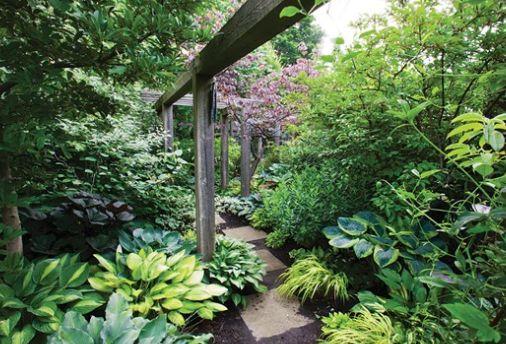 Creating hidden pathways between higher planting encouraging adventure and discovery...