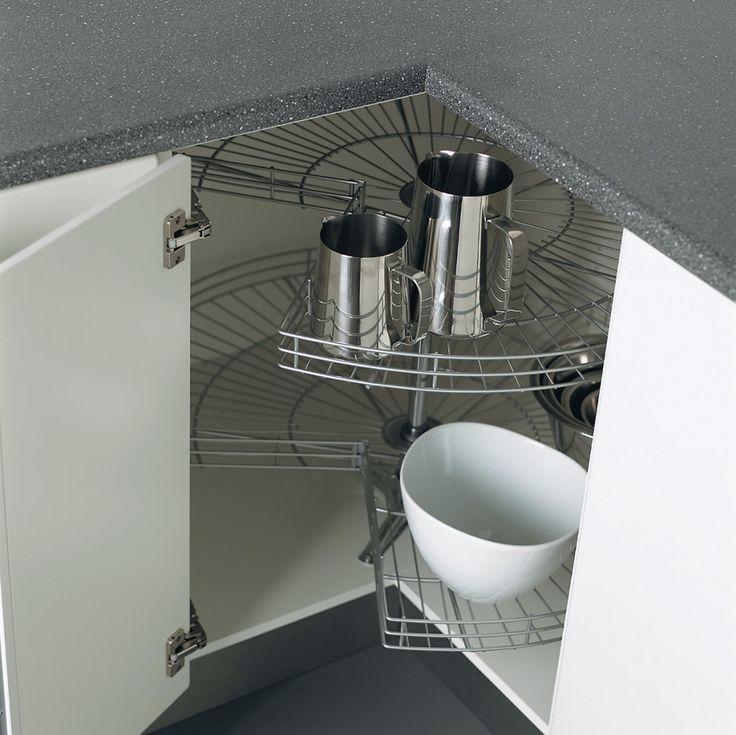 Sigdal kjøkken - hjørnebenk m karusell