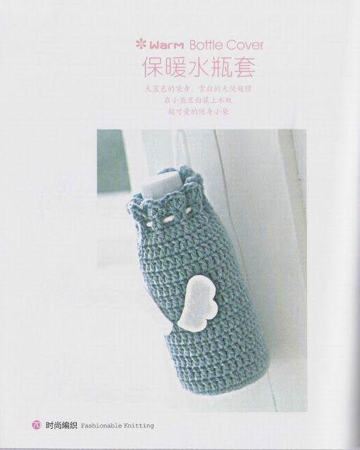 Patrones Crochet: Bolsa de Crochet para Botellas