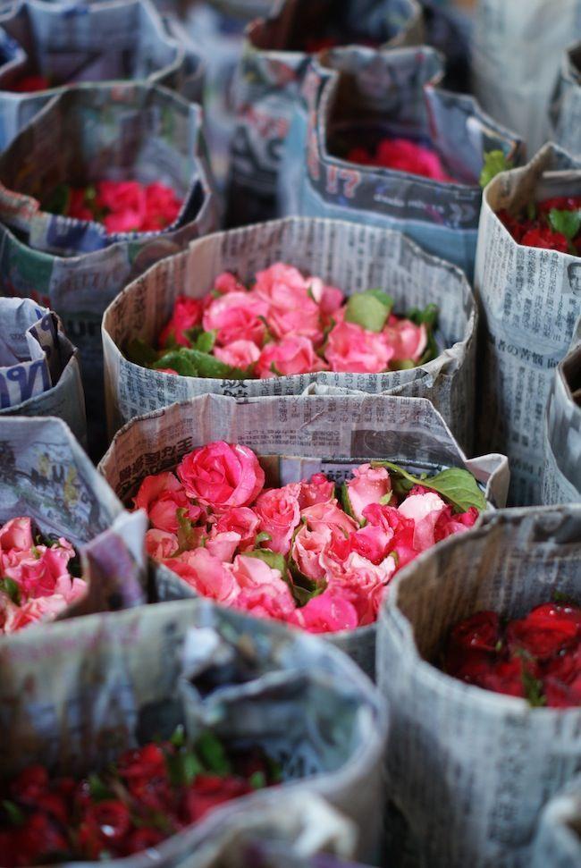 Bangkok - Marché aux fleurs