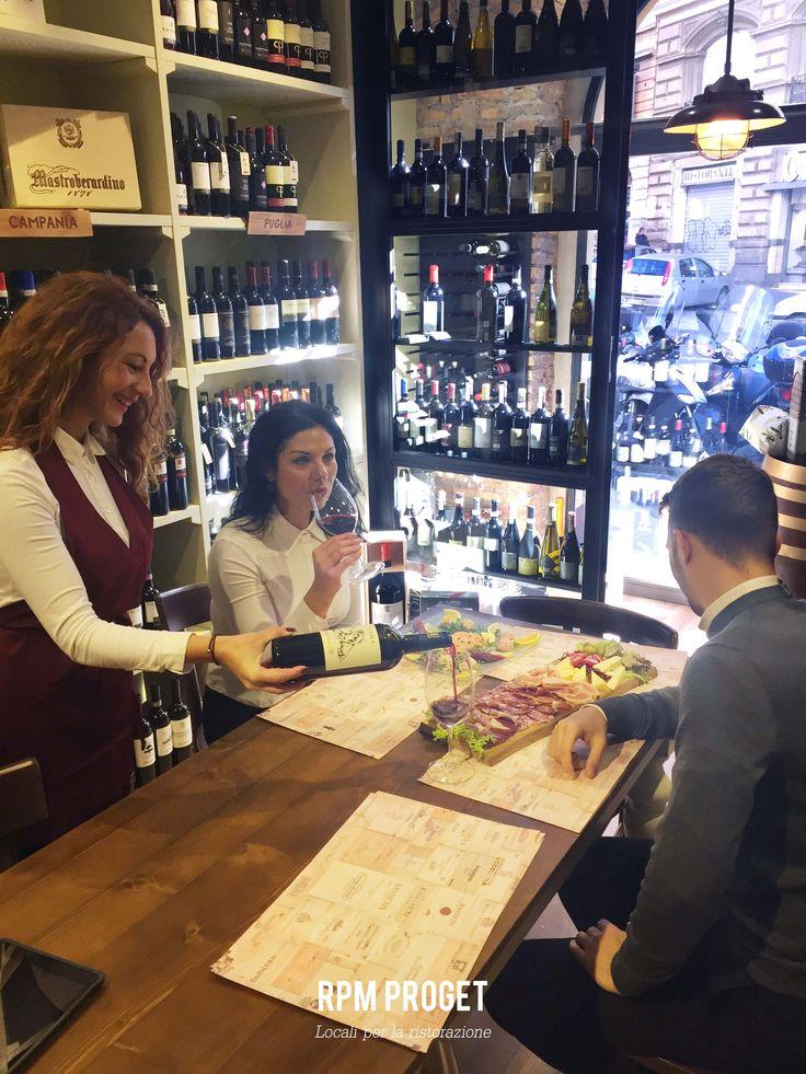 Astemio - Wine & Food via S. Maria Maggiore n° 123 Progetto e realizzazione #RPMproget