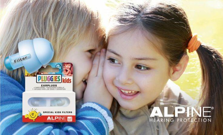 Alpine Pluggies Kids - Úszás, koncert, utazás - Füldugó gyerekeknek