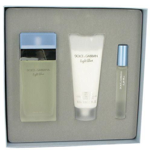 Buy Dolce & Gabbana Light Blue  100ml Eau De Toilette  Women's Perfume Gift Set. Cheap designer perfumes from Australia's best online website with FREE shipping.