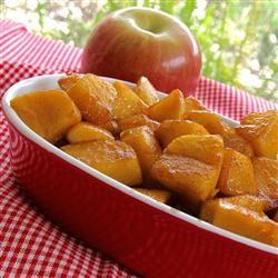 Skillet Apples with Cinnamon Allrecipes.com