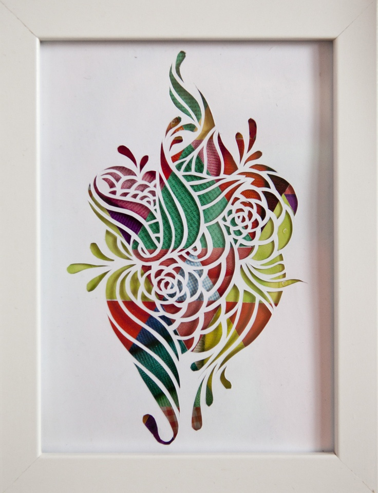 571 best diy papercrafts images on pinterest paper crafting flower papercut 2 ezra reimer 2012 paper cutting mightylinksfo Choice Image