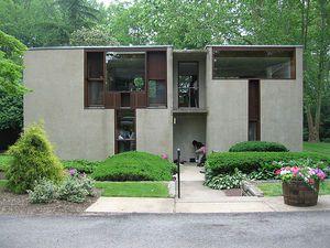 Esherick House in Philadelphia, Pennsylvania by Louis Kahn