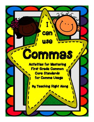 comma practice from teachingrightalong on 21 pages commas in a series. Black Bedroom Furniture Sets. Home Design Ideas