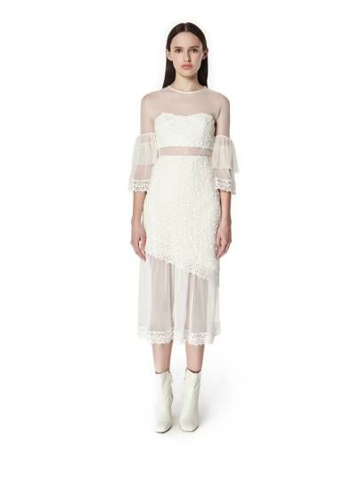 628164a2c4 57 Stunning White Bridesmaid Dresses For Every Style | Wedding | White  bridesmaid dresses, Bridesmaid dresses, Dresses