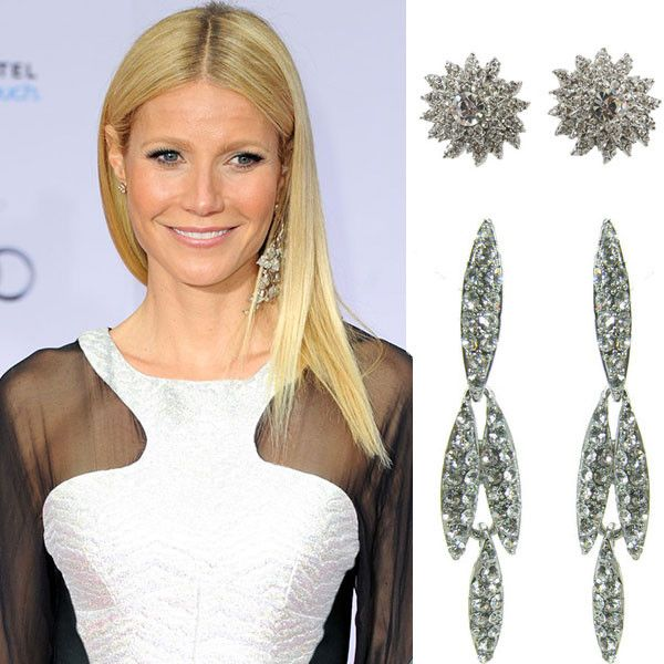Get the Look: Gwyneth Paltrow Style with Octavia Fox It's time to shuffle your jewellery box. Play mix-and-match with your earrings like Gwyneth Paltrow for A-symmetrical pretty.....Harper's Bazaar. #leethalfashion #leethal #accessories
