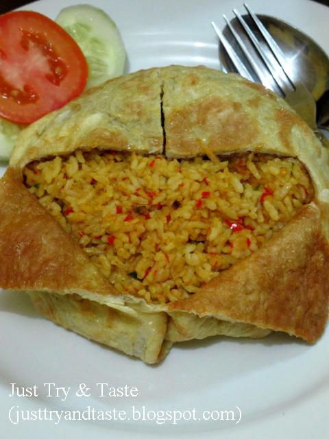 Just Try & Taste: Nasi Goreng Serai ala Just Try & Taste