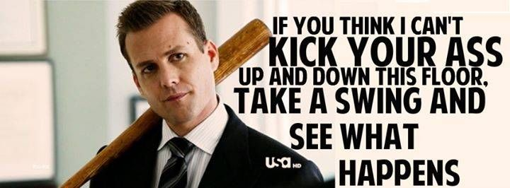 Suits Harvey Specter (Gabriel Macht)