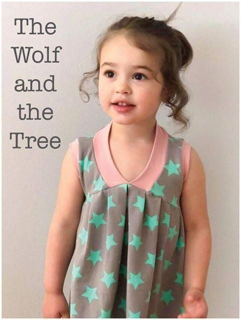 Abby's Sweet V-Neck free sewing pattern from The Wolf and The Tree – download it for free from their shop