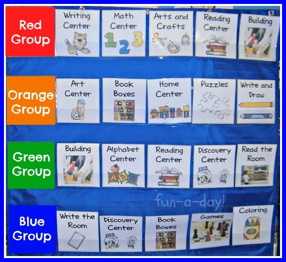 Organizing Centers in the Early Childhood Classroom